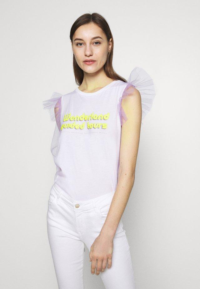PRINCESS TEE - T-shirt print - lilac honey