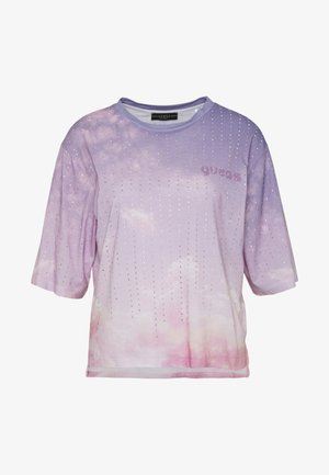 PASTEL TEE - T-shirt con stampa - pink sky combo