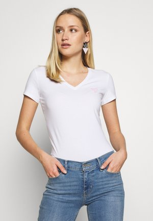 TRIANGLE - T-shirt con stampa - blanc pur
