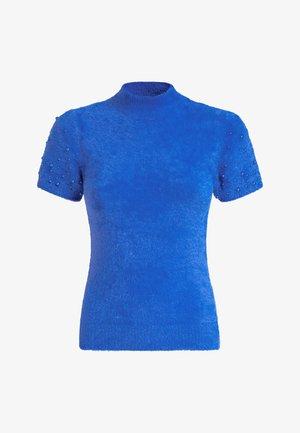 MIT APPLIKATIONEN - Jumper - blue