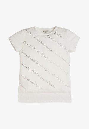 STRASS - Print T-shirt - white