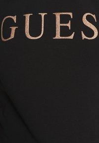 Guess - ANGELIKA TEE - T-shirt imprimé - jet black - 5