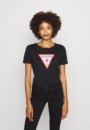 TATIANA TEE - Print T-shirt - jet black