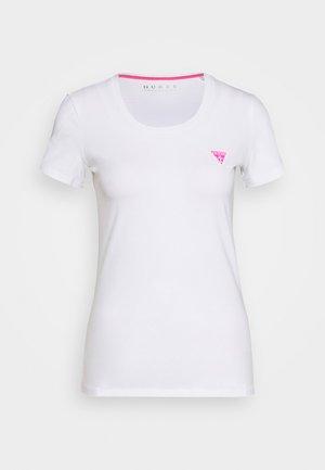 TEE - T-shirts med print - true white
