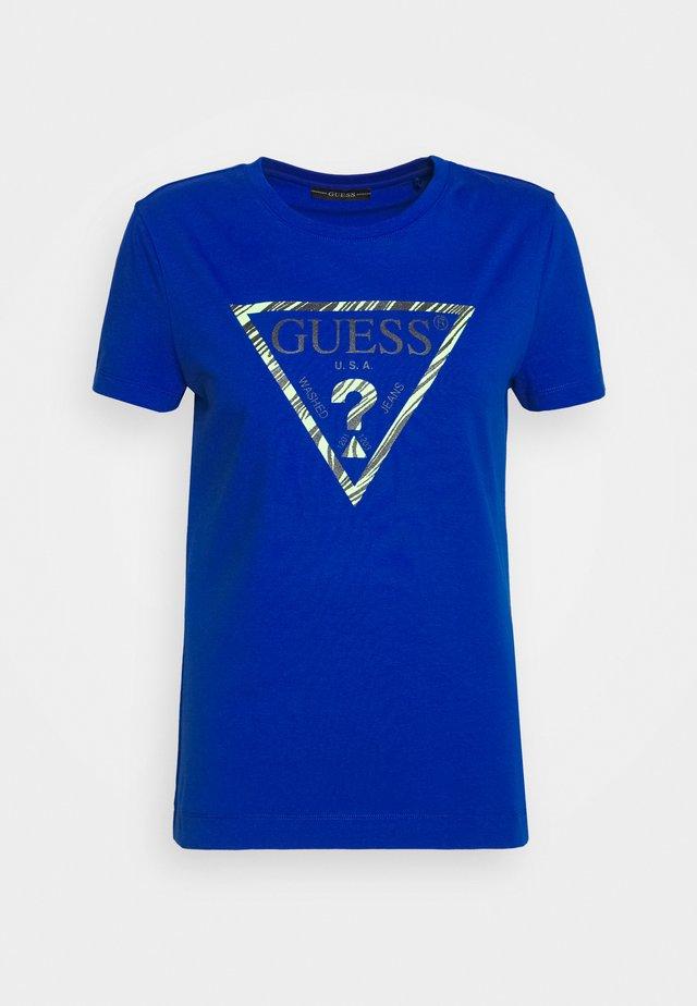 A$AP ROCKY AMBRA - T-shirt print - blue romance