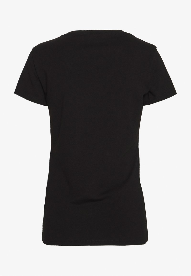 Guess BRITNEY TEE - T-shirts med print - jet black