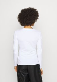 Guess - VILMA TEE - Long sleeved top - true white