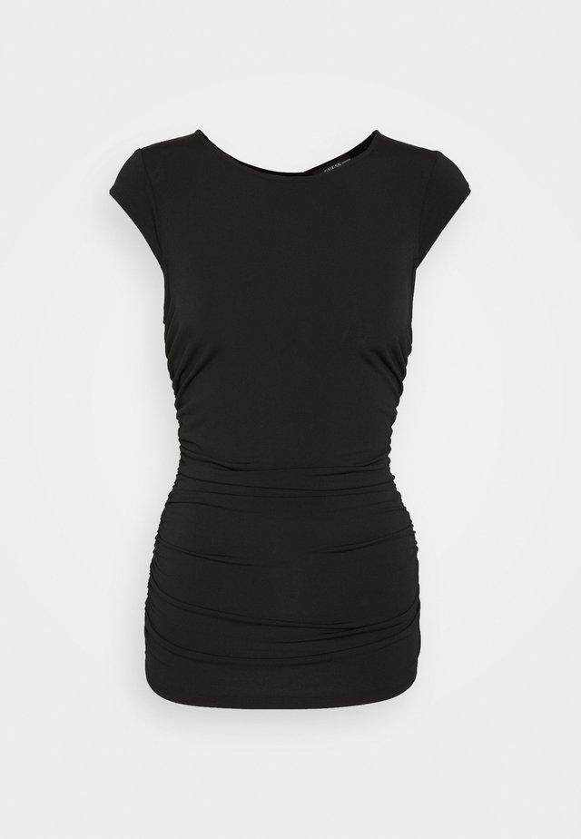 ILONA - T-shirt print - black