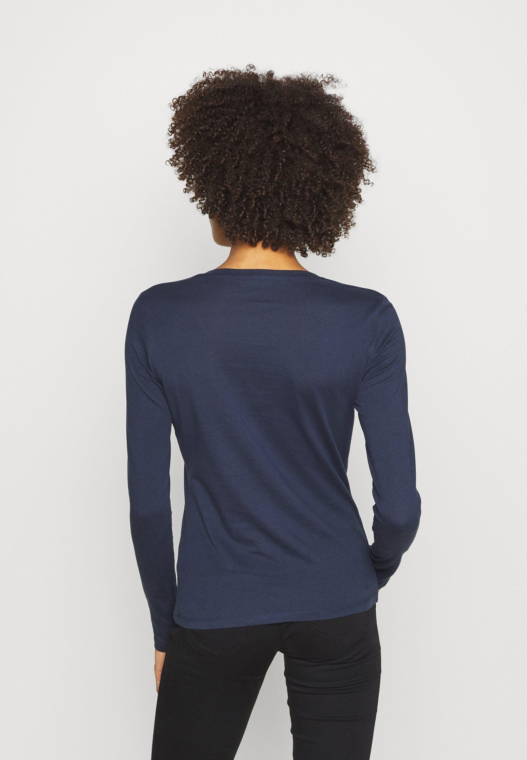Guess CAMILLA  - Bluzka z długim rękawem - blue navy