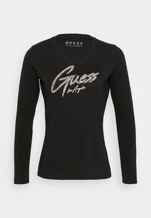 CAMILLA TEE - Long sleeved top - jet black