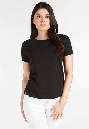 T-SHIRT LOGO POSTERIORE - T-shirt z nadrukiem - nero