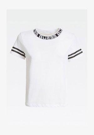 T-shirt z nadrukiem - mehrfarbig, weiß