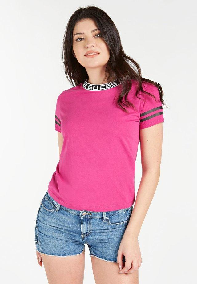 T-shirt print - fuchsia