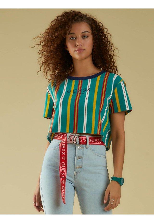 T-Shirt print - vert multi