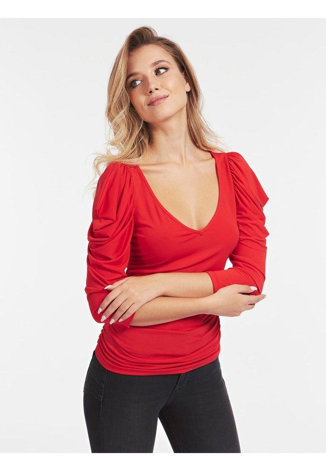 Longsleeve - rouge