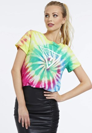 TIE-DYE - T-shirt print - gemustert multicolor