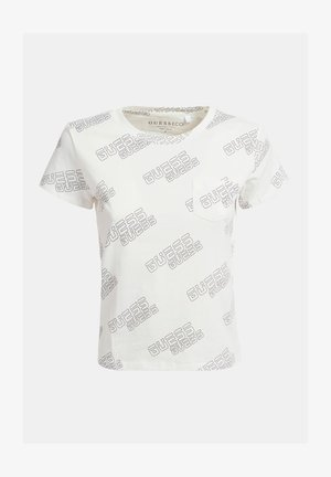 Print T-shirt - wit multi