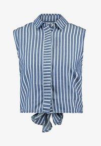 Guess - CALISTA  - Button-down blouse - pin blue - 4
