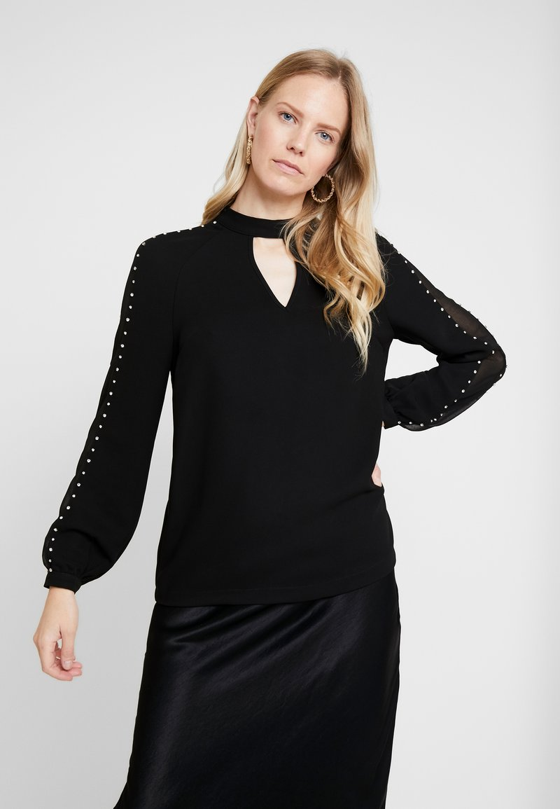 Guess - LS SAVANNA - Blouse - jet black