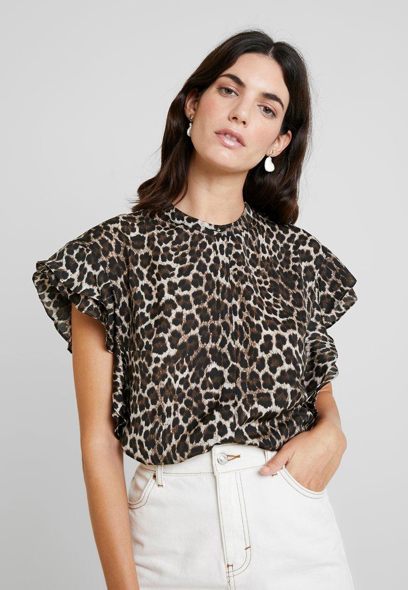 Guess - REGULAR FIT - Bluse - beige/brown