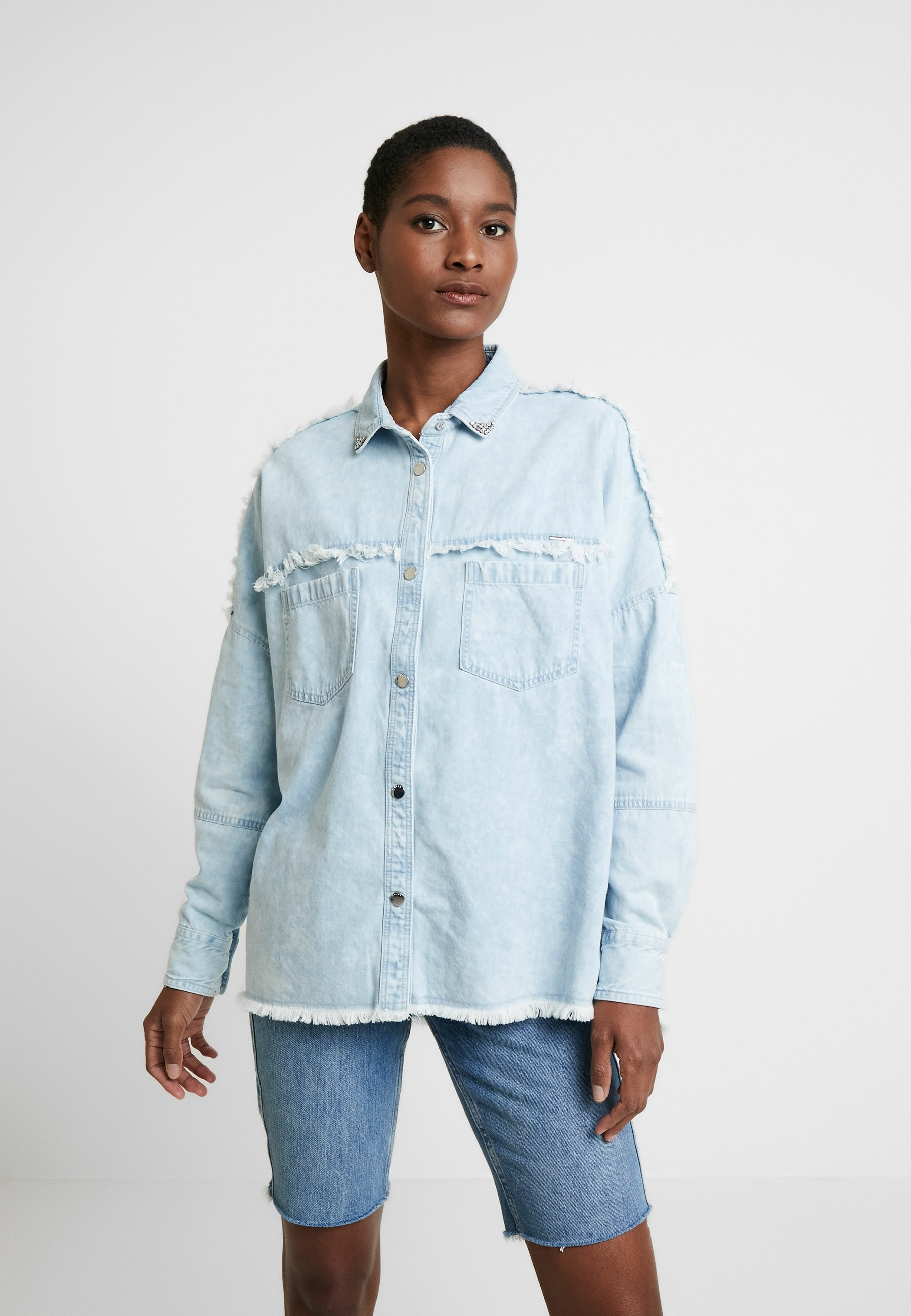 Guess PARISIAN RAW CUT - Skjorte - sewell