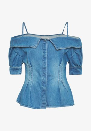 LEEANNE - Bluse - blue denim