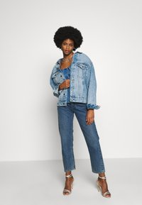 Guess - LEEANNE - Blůza - blue denim - 1