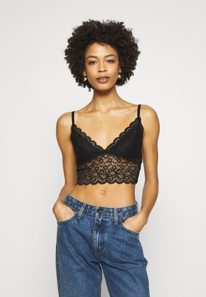 BRALETTE - Topper - jet black
