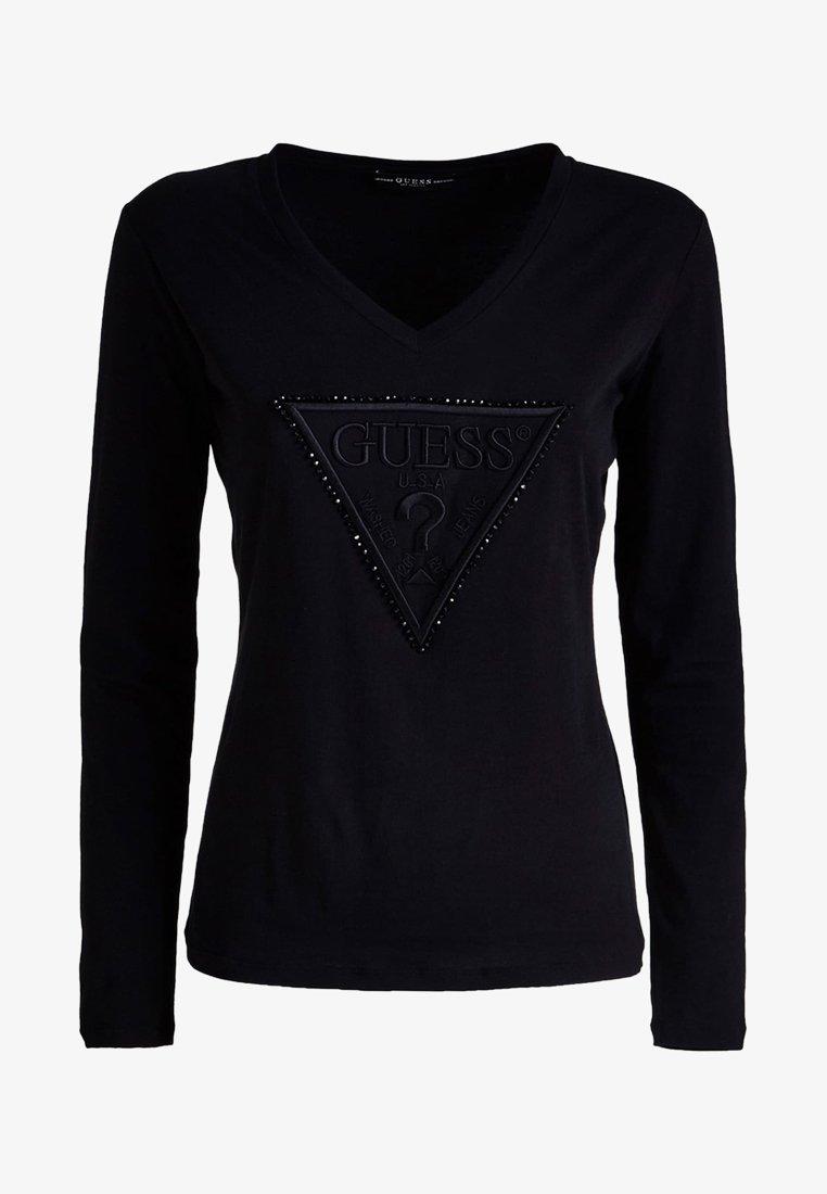 Guess - VORNE - T-shirt à manches longues - black
