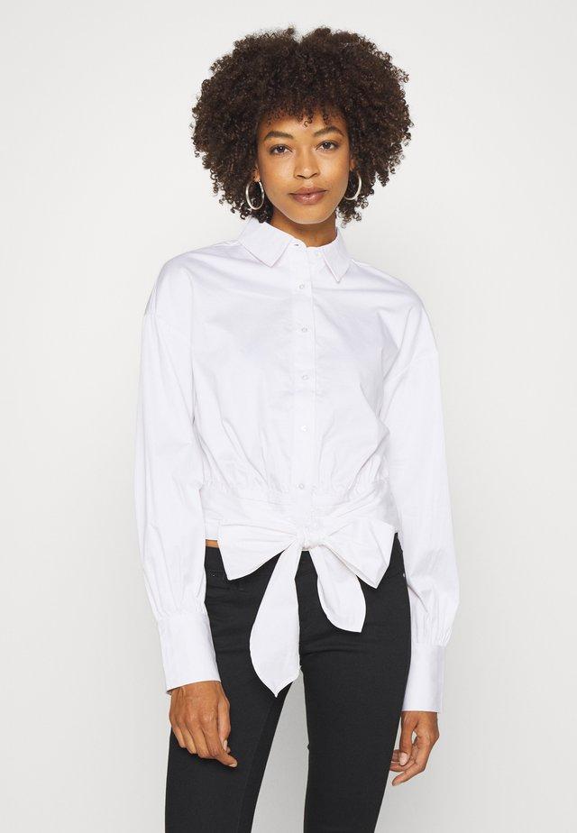 LUCINA - Button-down blouse - true white