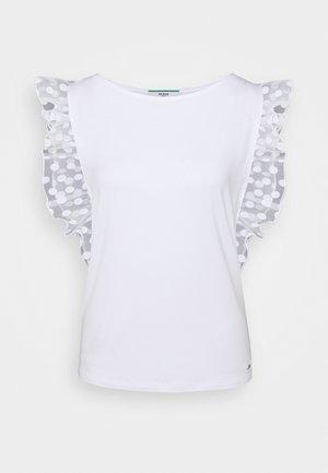 ENZA - T-shirts med print - true white