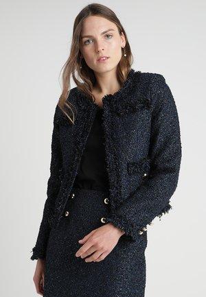 ELISA JACKET - Blazer - tweed black/blue