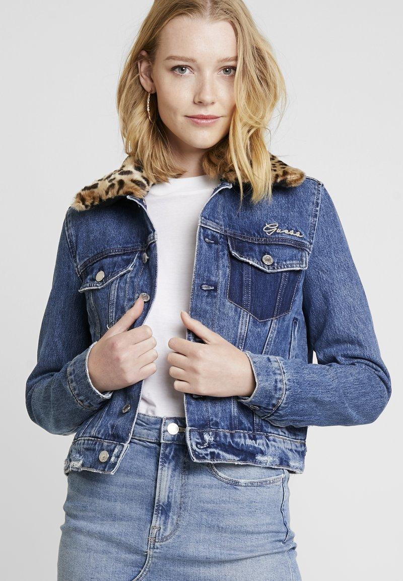 Guess - DELYA - Giacca di jeans - mizu