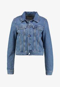Guess - DELYA TRUCKER - Denim jacket - biscayne blue - 5