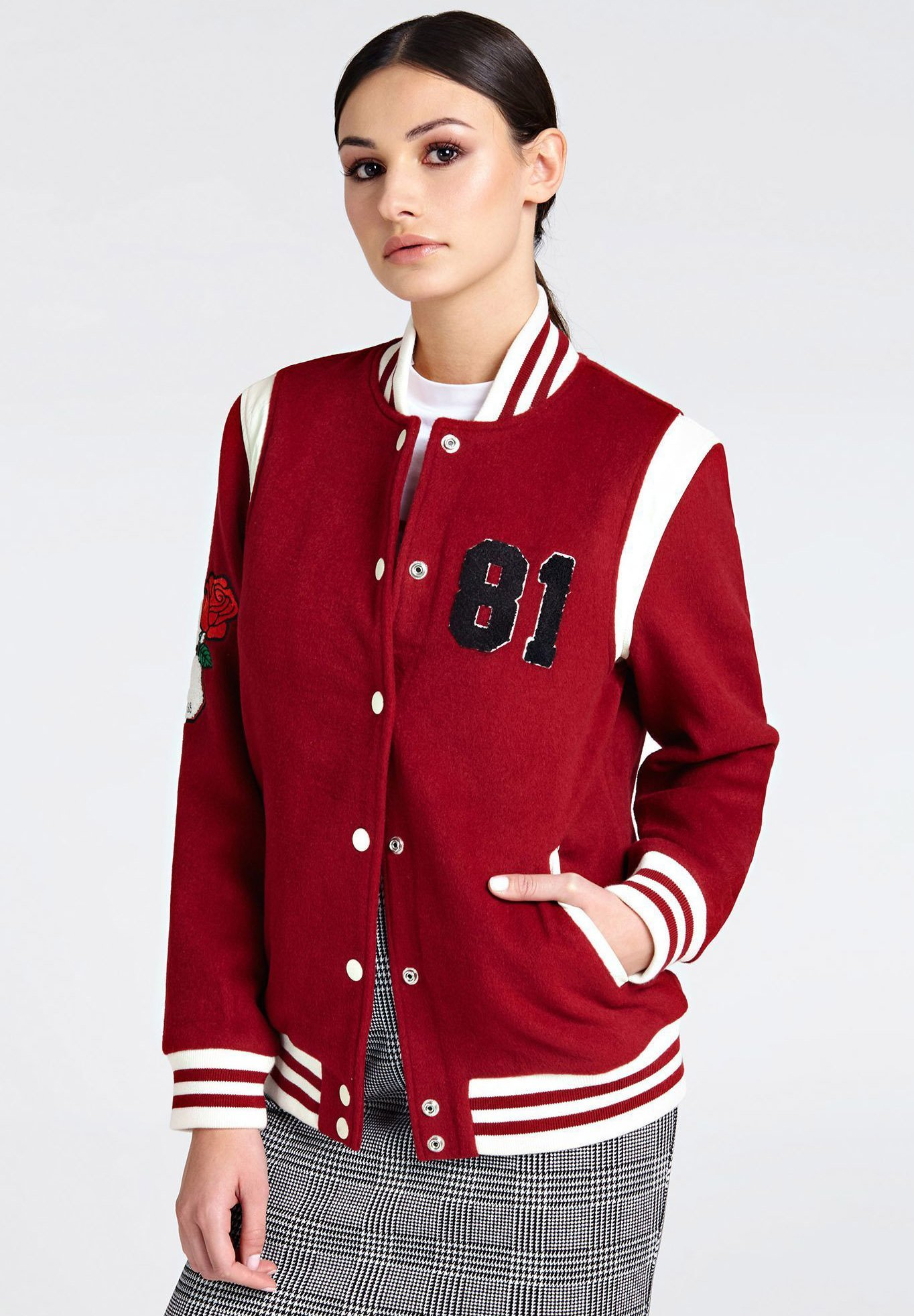 Red Bomber Guess Giubbotto Giubbotto Red Bomber Giubbotto Red Guess Bomber Guess Bomber Giubbotto Guess 4A5jq3LR