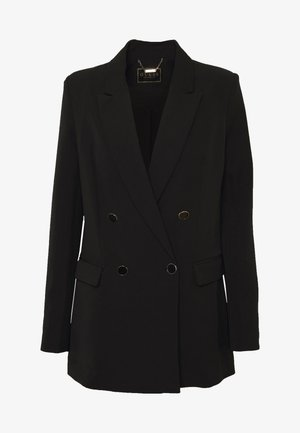 CHERYL - Short coat - jet black