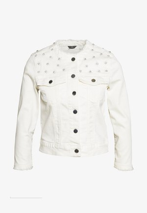 HELLA JACKET - Džínová bunda - jungle white embelli