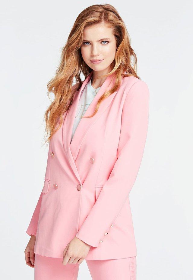 Krótki płaszcz - rosa
