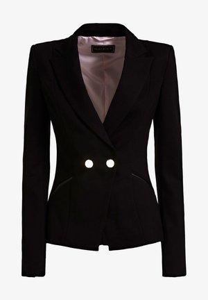 MAILLE PONTE - Blazer - noir