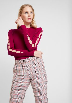 MARSHA - Long sleeved top - russian red