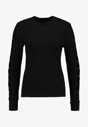 MARSHA - Long sleeved top - jet black