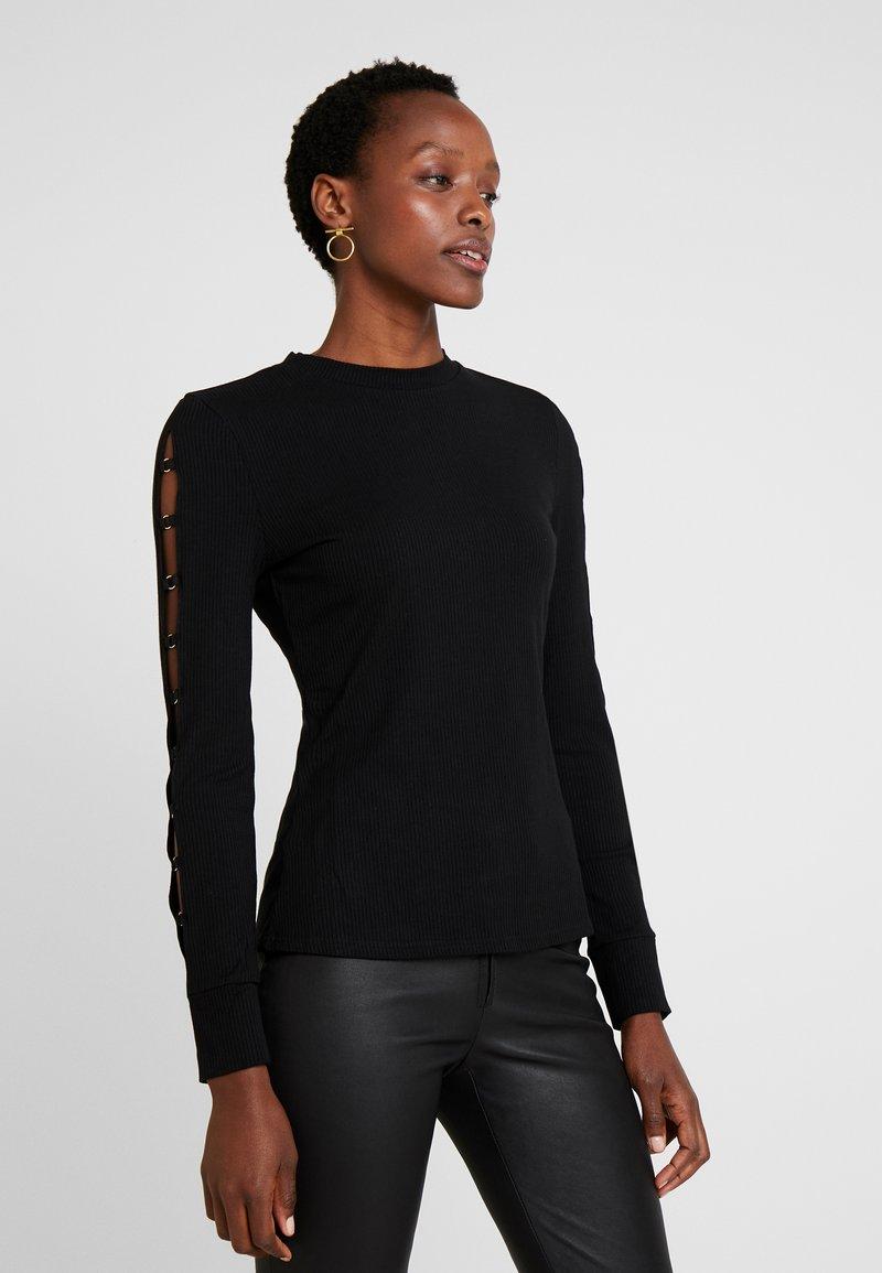 Guess - MARSHA - Long sleeved top - jet black