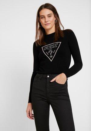 SWEATER - Sweatshirts - jet black