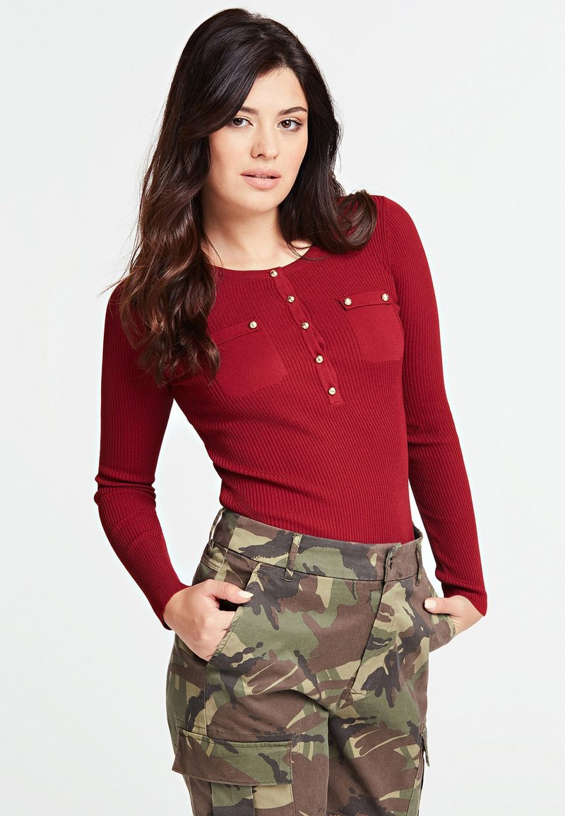 Guess - Jumper - red