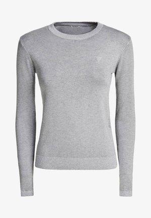 STRETCH-PULLOVER - Sweter - grau