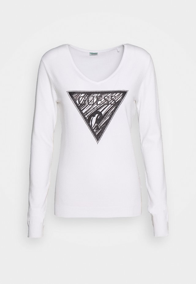 GIULIA - Sweter - true white