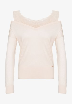 ORIELLA V NECK - Sweter - pink powder