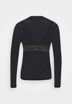 GABRIELLE - Long sleeved top - jet black