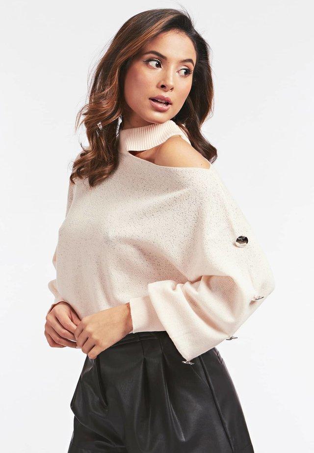 Sweter - puderrosa
