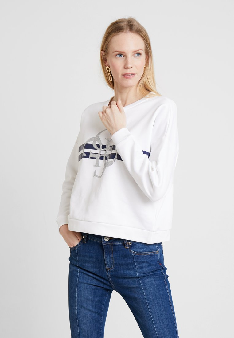 Guess - LOGO - Sweatshirt - true white